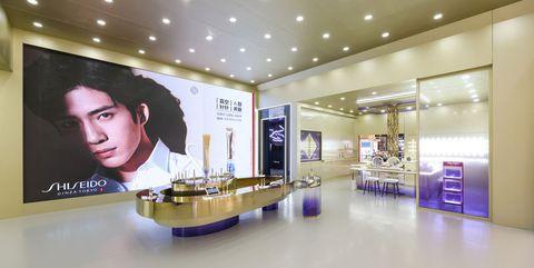 上海新世界大丸百货「悦薇纯a真空舱」现场