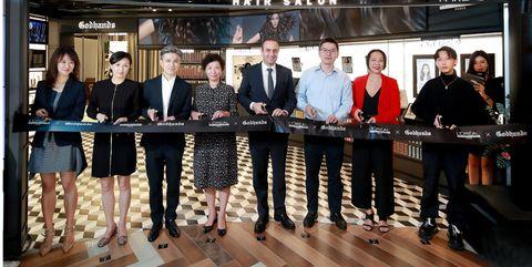全球首家巴黎欧莱雅pro潮色黑科技旗舰沙龙于上海k11盛大开幕