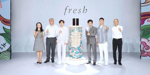 fresh馥蕾诗品牌高层和嘉宾合影