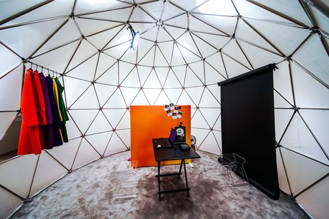 Building, Interior design, Architecture, Design, Dome, Room, Yurt, Tent, Photography, Daylighting,