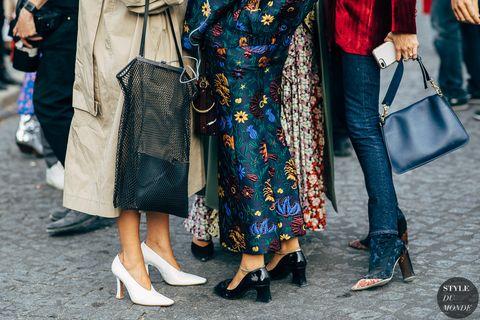 Street fashion, People, Clothing, Fashion, Blue, Footwear, Snapshot, Leg, Jeans, Denim,