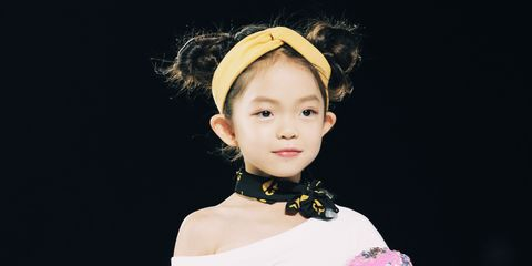 White, Pink, Clothing, Fashion, Skin, Child, Beauty, Shoulder, Lip, Yellow,