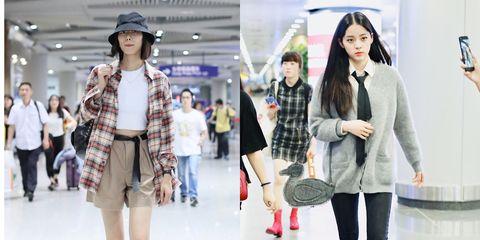 Fashion model, Clothing, Fashion, Street fashion, Snapshot, Outerwear, Footwear, Fashion design, Leg, Waist,