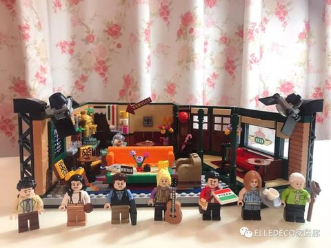 Toy, Room, Interior design, Playset, Collection, Furniture, Dollhouse, Lego,