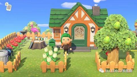 House, Cartoon, Adventure game, Farm, Games, Rural area, Tree, Animation, Screenshot, Plant,