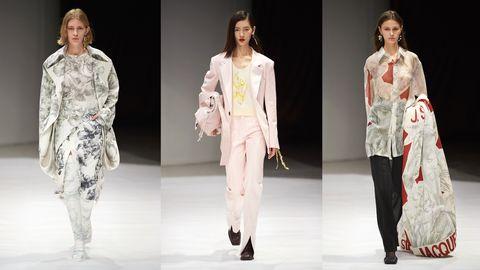 jacques,2021,巴黎时装周,浪漫,古典,摩登,慵懒,蕾丝,鸢尾花,高级时装,风衣,西装,裙装,包袋