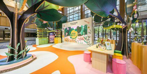 欧舒丹「绿动地球体验展」