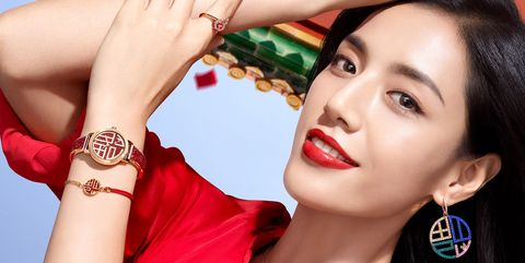 Finger, Lip, Earrings, Red, Hand, Wrist, Style, Nail, Eyelash, Fashion,
