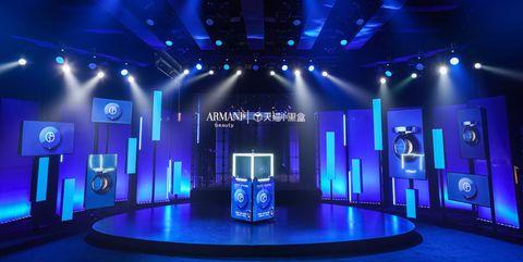 阿玛尼美妆全新「大师」蓝气垫上市活动