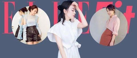 White, Clothing, Skin, Fashion, Pink, Shoulder, Dress, Outerwear, Neck, Sleeve,