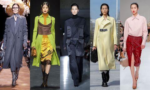 Fashion model, Fashion, Clothing, Fashion design, Runway, Fashion show, Footwear, Outerwear, Event, Haute couture,