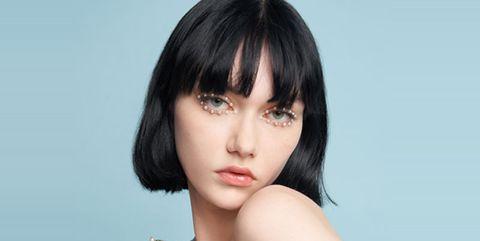 迪奥二零二二早春成衣系列发布秀秀场妆容