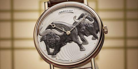 02宝玑classique经典系列7145辛丑年生肖腕表