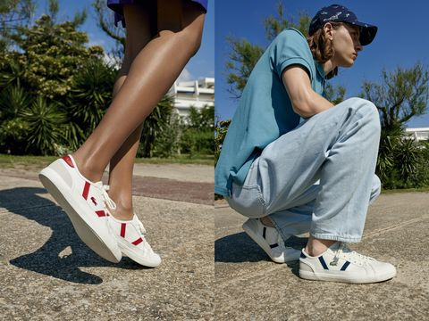 Footwear, White, Human leg, Shoe, Leg, Blue, Ankle, Joint, Calf, Plimsoll shoe,