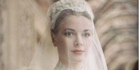 摩纳哥王妃结婚照