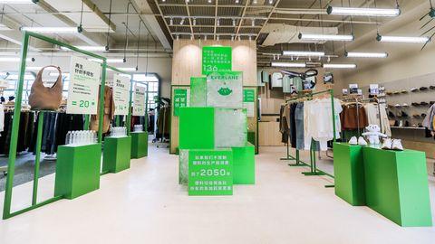 everlane,概念店,时尚,环保,可持续,有机,再生,减排,牛仔,真丝,舒适