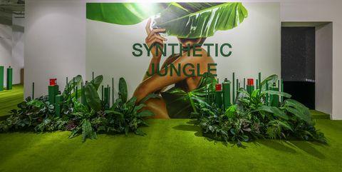 """synthetic jungle绿野之境""未来丛林限时展"