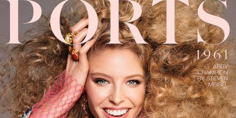 Hairstyle, Sleeve, Style, Poster, Eyelash, Model, Magazine, Makeover, Fashion model, Advertising,