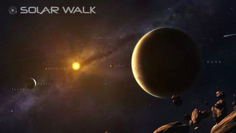 Astronomical object, Outer space, Planet, Sky, Astronomy, Universe, Atmosphere, Space, Science, Screenshot,
