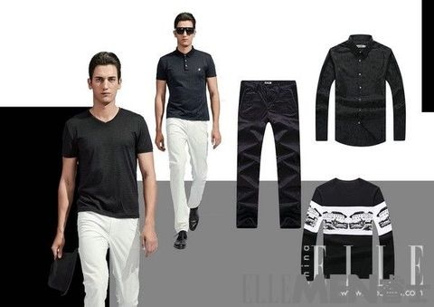White, Clothing, Black, Fashion, T-shirt, Jeans, Sportswear, Sleeve, Standing, Denim,