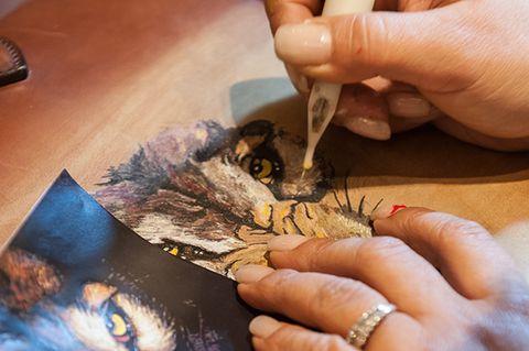 Hand, Nail, Human, Finger, Feather, Art, Illustration,