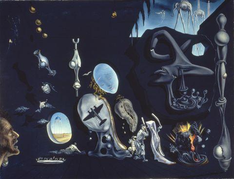 Art, Organism, Illustration, Font, Visual arts, Space, Fictional character, Painting, Mural,