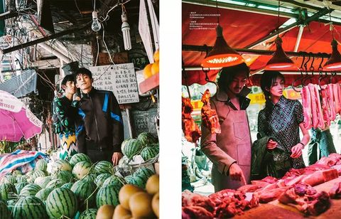 Selling, Marketplace, Local food, Market, Greengrocer, Public space, Natural foods, Vegetable, Bazaar, Hawker,
