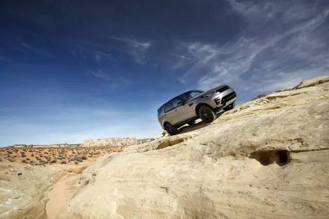 Off-roading, Vehicle, Car, Off-road vehicle, Landscape, Toyota fj cruiser, Rock, Wadi, Hummer h3, Compact sport utility vehicle,