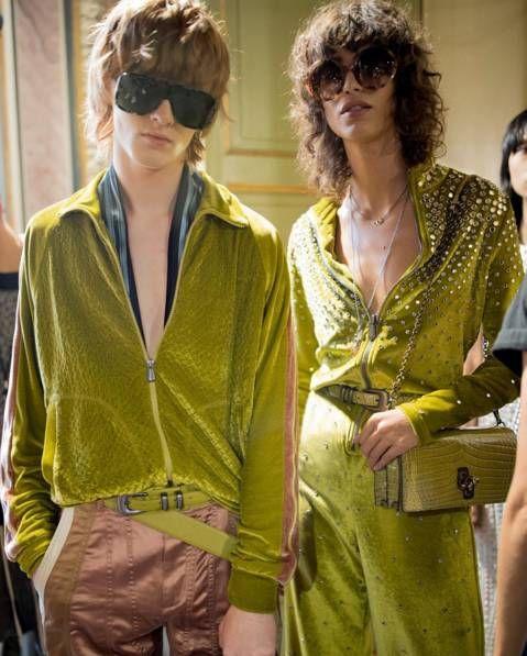 Yellow, Clothing, Eyewear, Outerwear, Fashion, Hairstyle, Sunglasses, Jacket, Blazer, Fashion design,