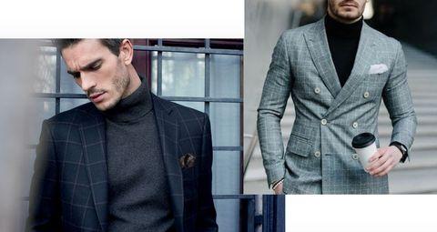 Clothing, Outerwear, Suit, Blazer, Jacket, Overcoat, Fashion, Coat, Pattern, Collar,