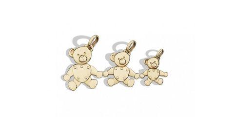 Yellow, Jewellery, Fashion accessory, Earrings, Beige, Teddy bear, Metal,
