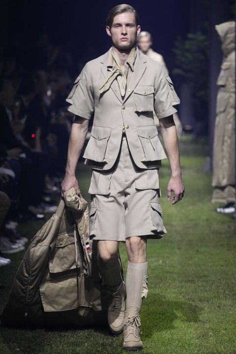 Fashion, Fashion model, Runway, Fashion show, Fashion design, Human, Footwear, Summer, Fun, Street fashion,