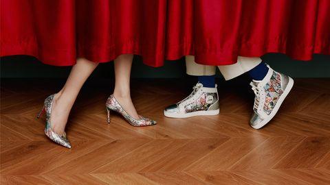 christian louboutin,路铂廷,运动鞋,七夕,情人节,限定,loubitag,浪漫,迷人,王俊凯