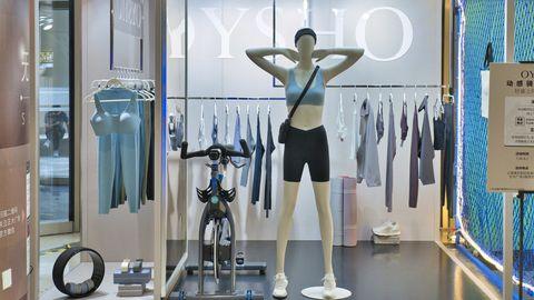 oysho,魔都,快闪,动感骑行,时尚,潮流,健康,运动