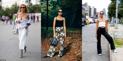 Clothing, White, Shoulder, Street fashion, Fashion, Jeans, Footwear, Joint, Leg, Fashion model,
