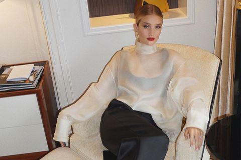 White, Clothing, Yellow, Fashion, Dress, Leg, Sitting, Room, Furniture, Gown,