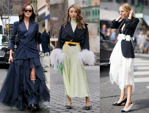Clothing, Street fashion, Fashion, Fashion model, Dress, Footwear, Waist, Haute couture, Outerwear, Black-and-white,