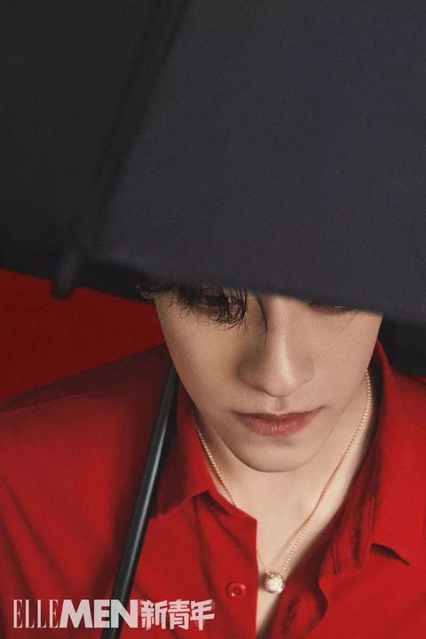 Red, Nose, Lip, Smile, Headgear, Black hair, Photography, Gesture,