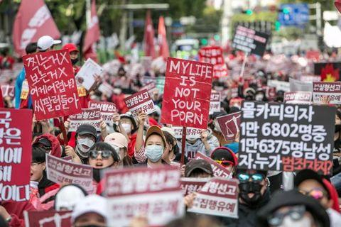 Protest, People, Crowd, Rebellion, Public event, Demonstration, Event, Social work, Fan,