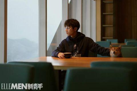 Conversation, Sitting, Table,
