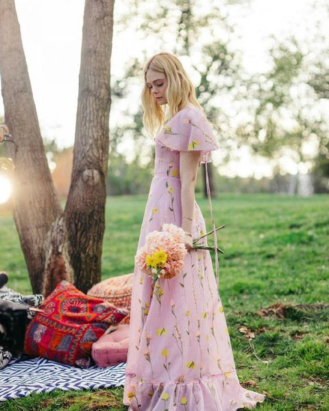 Pink, Clothing, Photograph, Dress, Spring, Yellow, Gown, Peach, Fashion, Summer,