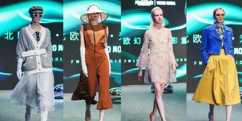 Fashion model, Fashion, Clothing, Runway, Fashion design, Fashion show, Footwear, Event, Dress, Haute couture,