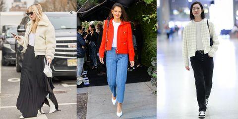 什么样的外套既时髦 还能抵挡冷空气针织衫西装外套大衣