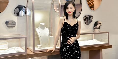 Display case, Clothing, Dress, Fashion, Shoulder, Room, Design, Boutique, Display window, Fashion design,