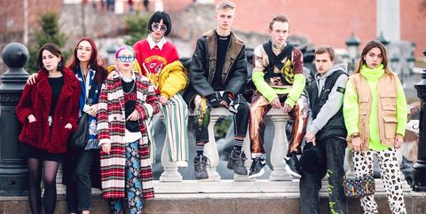 People, Social group, Yellow, Fashion, Youth, Event, Street fashion, Fun, Design, Textile,