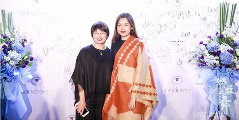 sandriver创始人郭秀玲与设计师ashlee meng合影