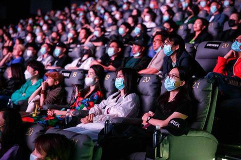 2021 vivo vision 超短片大赛首映暨颁奖仪式现场