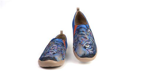uin 彩绘旅行鞋x 艺术家张笑笑