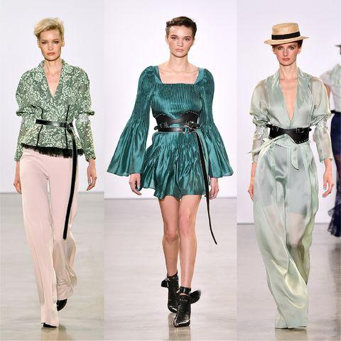 Fashion model, Fashion, Runway, Clothing, Fashion show, Fashion design, Haute couture, Waist, Footwear, Outerwear,