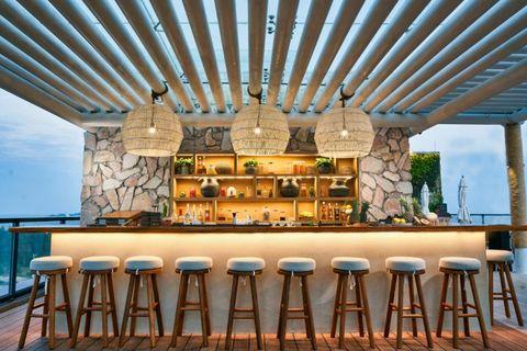三亚海棠湾阳光壹酒店1 hotel的可持续发展理念酒吧 天空吧